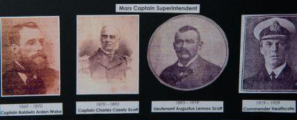 Four Mars Captains