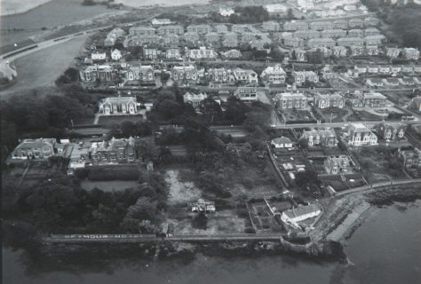 Aerial photograph of East Newport c. 1965