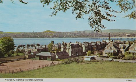 Postcard: View of East Newport and across the Tay to Dundee