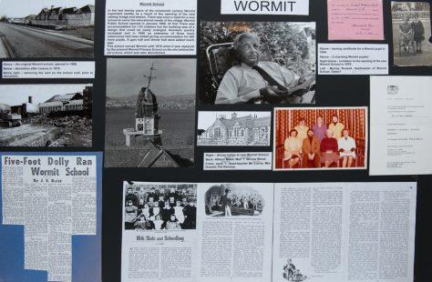 Wormit School: Display Board