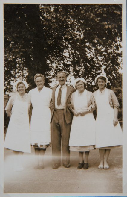 'Janny' and Dinner ladies early 1950s
