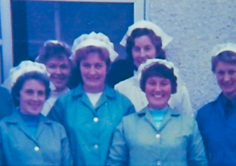 Newport School Kitchen Staff 1978