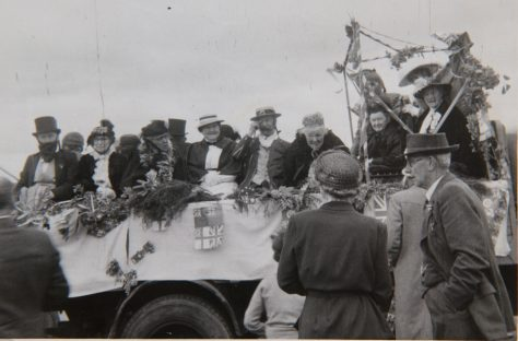A Float in the Coronation Procession, 1953
