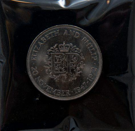 Celebratory Silver Crown 1972