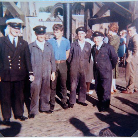 Crew on Last Sailing