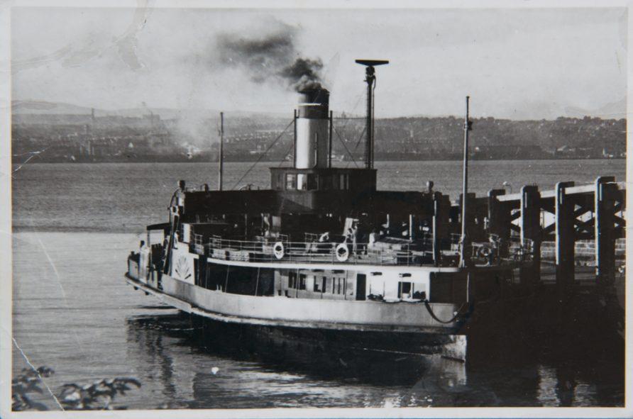 B. L. Nairn at Newport Pier