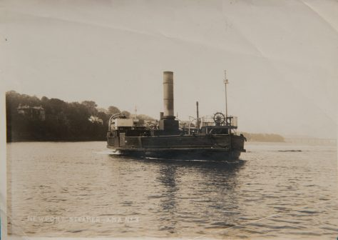 Postcard of the Ferry PS Fifeshire