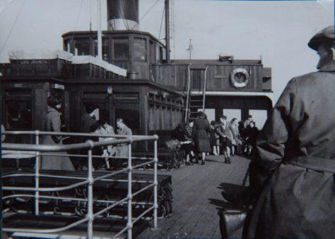 Ferry Passengers on Board
