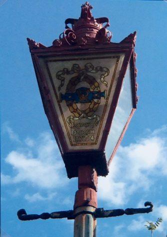 Provost Randolph Webster's Lamp Post