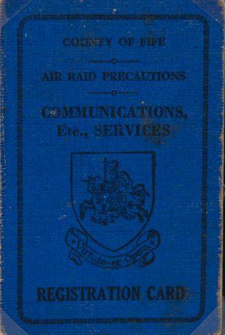 Air Raid Precautions Registration Card