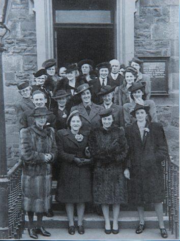 Wartime Wedding Blyth Hall