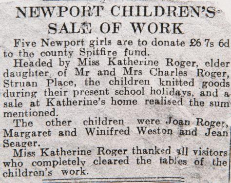 Children Helping the War Effort