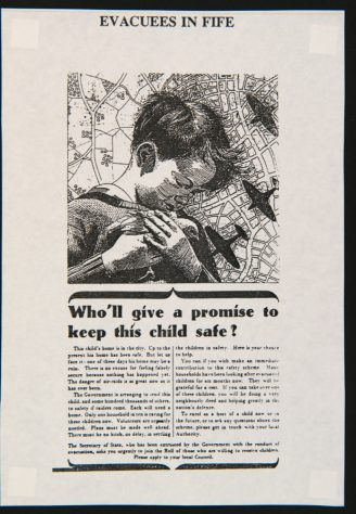 Advert for Homes for Evacuees