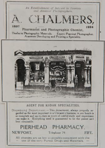 Advert for Chalmers the Chemist