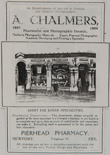 Chalmers the Chemist 1924