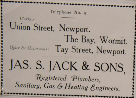 James Jack and Sons, Plumbers