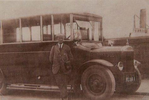 James Johnstone's Bus, 1920's