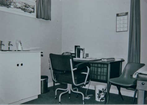 Consulting Room at Victoria Street GP Surgery 1978