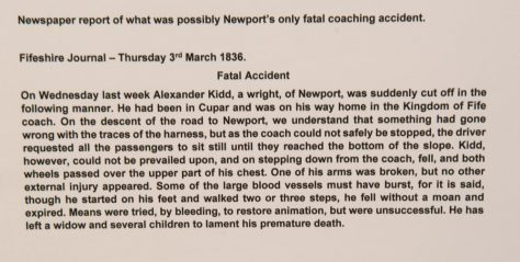 Coaching Accident, 1836