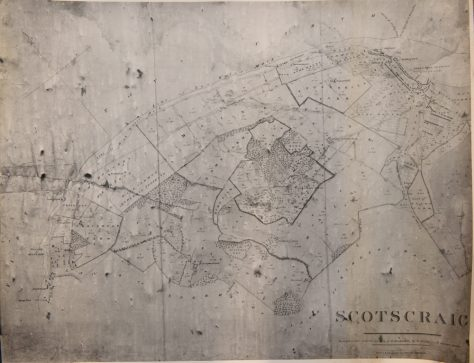 Map of the Newport - Tayport Turnpike Road, 1831