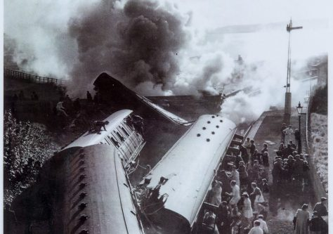 Rail Accident at Wormit 1955