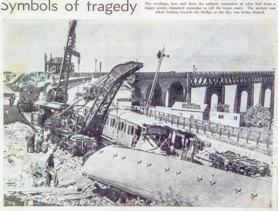 Wormit Station Accident 1955