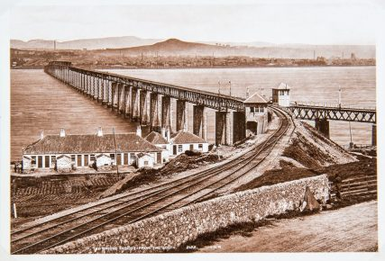 First Railway Bridge Completed