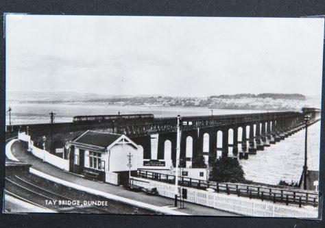 Diesel Train on Rail Bridge