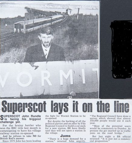 Campaign to Reopen Wormit Station