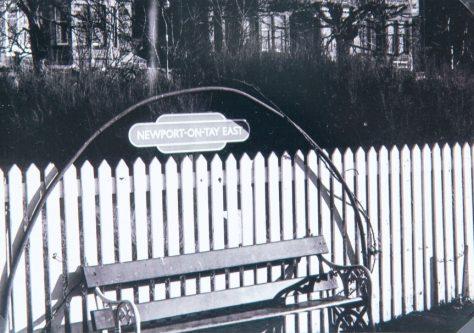 East Newport Station Platform Sign