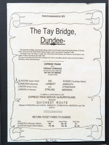 First Rail Bridge Train Information