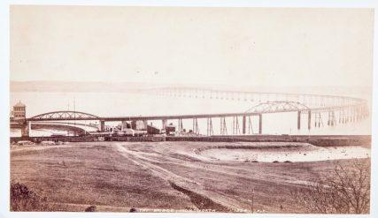 First Tay Rail Bridge From North