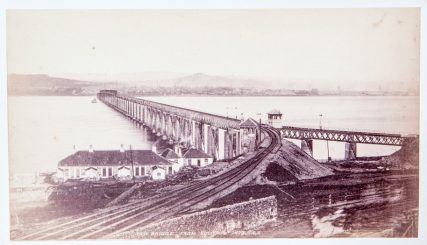 First Tay Rail Bridge From South