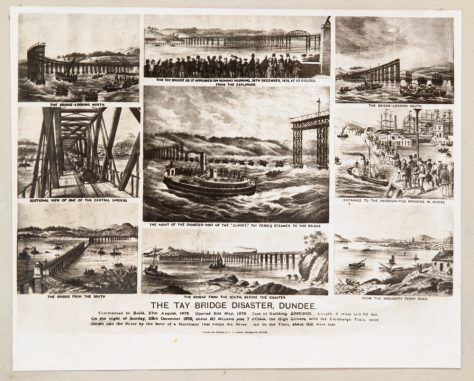 Tay Bridge Disaster Collage Board