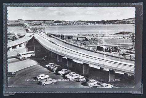 Postcard: Tay Road Bridge Nearing Completion 1966