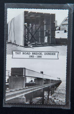 Postcard:Tay Road Bridge Construction 1963 - 1966