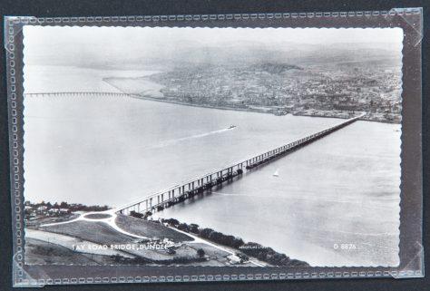 Postcard: Tay Road Bridge Spanning the River