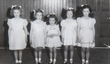 Mrs Brighton's Dancing Class 1952