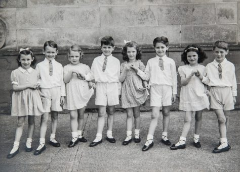 Miss Rose's Dancing Class Early 1950s