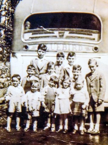 Children's Bus Outing 1940s