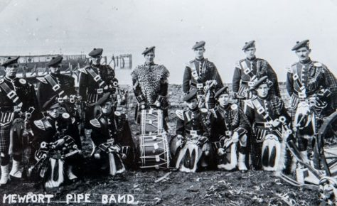 Newport Pipe Band c. 1930