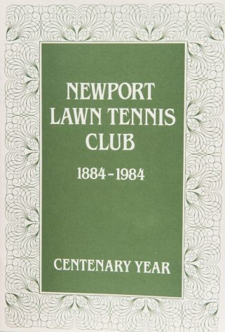 Booklet Newport Lawn Tennis Club 1884 - 1984