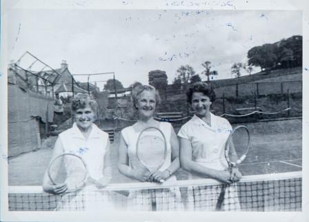 Newport Ladies Tennis 1954