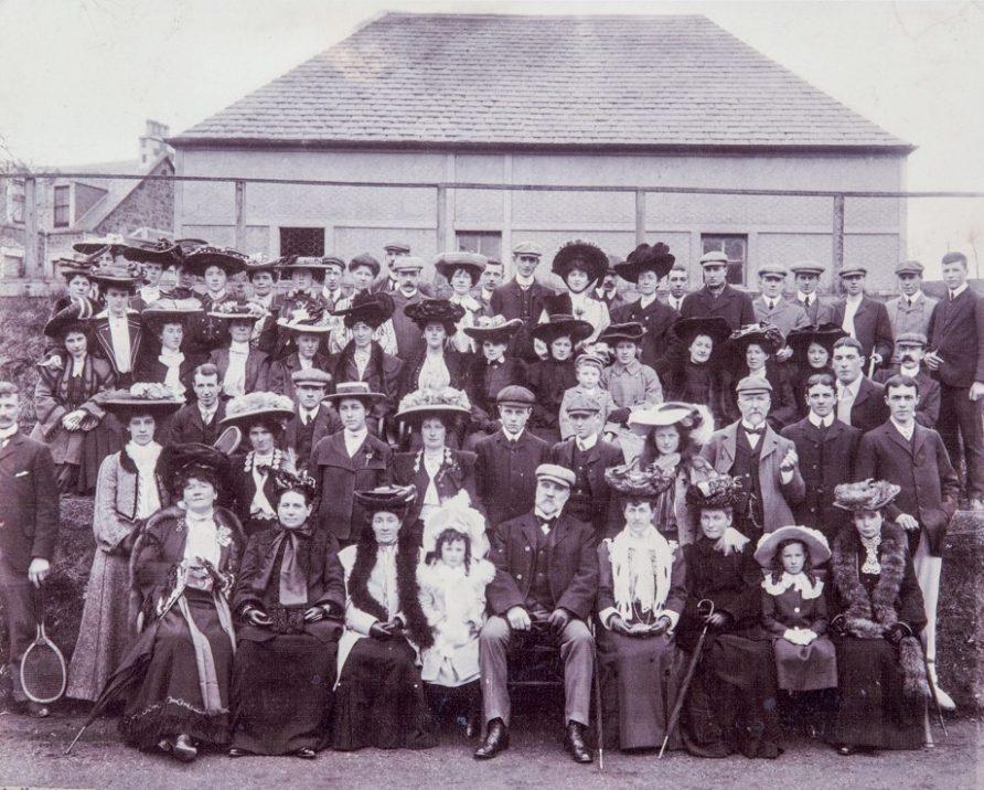 Newport Tennis Club members c. 1900