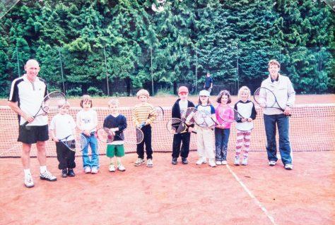 Newport Tennis Club coaching c. 2000