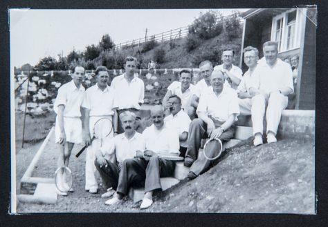 Wormit Tennis Club 1950s
