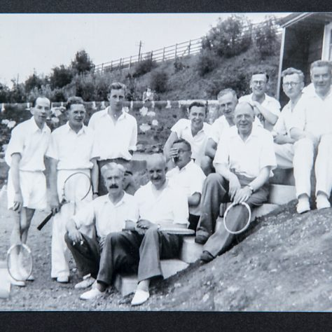 Wormit Tennis Club 1950s | Joyce Lumsden