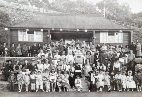 Wormit Tennis Club Fancy Dress 1950
