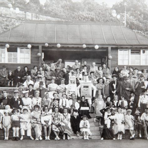 Wormit Tennis Club Fancy Dress 1950s