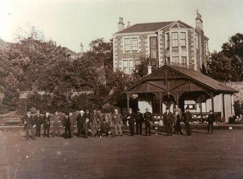Newport Bowling Club c. 1890